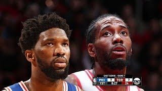 Philadelphia Sixers vs Toronto Raptors - Game 1 - Full Game Highlights | 2019 NBA Playoffs