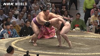 GRAND SUMO Highlights: Bout of Day 9 | May 2019 | NHK WORLD-JAPAN