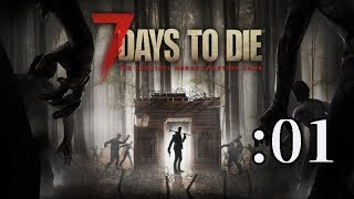 【7 Days to Die】ゾンビだらけの世界で7日間生き残れるか:01