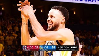LA Clippers vs Golden State Warriors - Game 1 - Full Game Highlights | 2019 NBA Playoffs