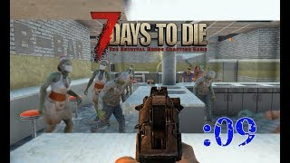 【7 Days to Die】まるで…ゾンビゲームのようだ…!:09