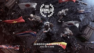 PUBG Nations Cup 2019 - Live Day 1