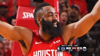 Utah Jazz vs Houston Rockets - Game 1 - Full Game Highlights | 2019 NBA Playoffs