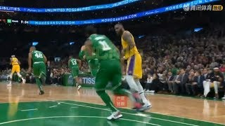 LeBron James Gives Kyrie Irving His Respect After Kyrie Makes Him Blow Easiest Layup Ever!