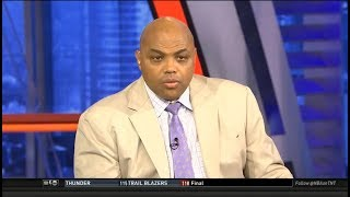 Charles Barkley DISAPPOINTED Thunder lose to Blazers 118-115; Damian: 50 pts; George/Russell: 65 pts
