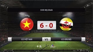 U23 VIETNAM vs U23 BRUNEI 6-0 Highlights HD 22/03/2019
