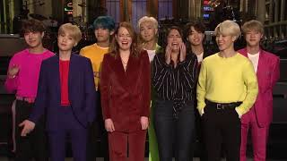 BTS (방탄소년단) 'Boy with Luv Featuring Halsey' Teaser Introduction Video (SNL)