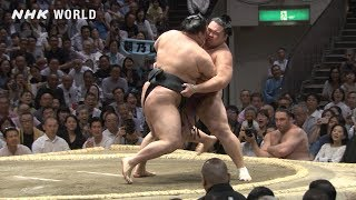 GRAND SUMO Highlights: Bout of Day 14 | May 2019 | NHK WORLD-JAPAN