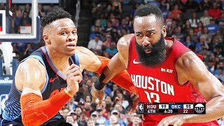 Houston Rockets vs OKC Thunder - Full Game Highlights | April 9, 2019 | 2018-19 NBA Season