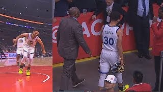 Stephen Curry Hurts His Ankle と Leaves Game With Injury! Warriors vs Clippers Game 6