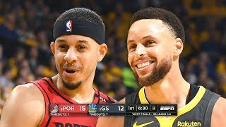 Portland Trail Blazers vs Golden State Warriors - Game 2 - Full Game Highlights | 2019 NBA Playoffs