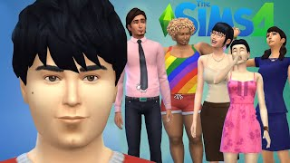 The Sims4で人生をやり直す 建築編