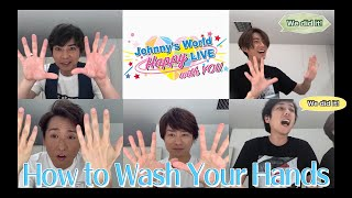 【How to properly wash your hands - English Subtitled Version】〜ARASHI〜
