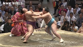 GRAND SUMO Highlights: Bout of Day 12 | May 2019 | NHK WORLD-JAPAN
