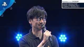 "『DEATH STRANDING Day-1 GAMEPLAY SESSION Vol.1』PlayStation® presents LIVE SHOW ""TGS2019"""
