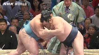 GRAND SUMO Highlights: Bout of Day 8 | May 2019 | NHK WORLD-JAPAN