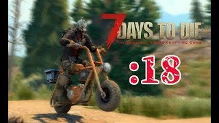【7 Days to Die】ヒャッハー!(ミニバイク完成):18
