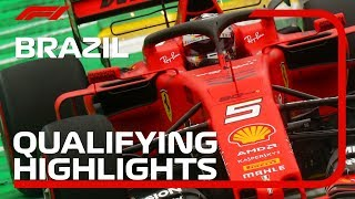 2019 Brazilian Grand Prix: Qualifying Highlights