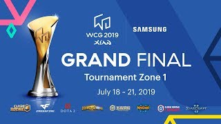 [Day 1] WCG 2019 Xi'an Grand FInal - Tournament Zone 1