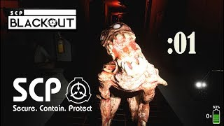 【SCP:Blackout】危険なSCPが徘徊する施設から脱出せよ:01