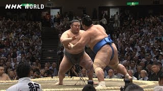 GRAND SUMO Highlights: Bout of Day 2 | May 2019 | NHK WORLD-JAPAN