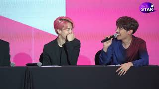 "[풀버젼] BTS 'PERSONA' Global Press Conference ""PRESS QとA"""
