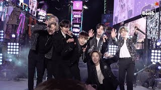 [BANGTAN BOMB] '작은 것들을 위한 시 (Boy With Luv)' Special Stage (BTS focus) @ NYRE 2020 - BTS (방탄소년단)