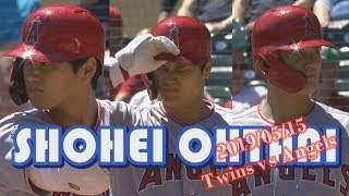 【大谷翔平】2019/05/15_Shohei Ohtani_Twins vs Angels