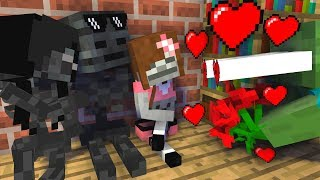 Monster School : Valentine's Day - Minecraft Animation