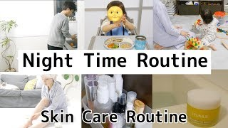 【Night Time Routine】&【Skin care Routine】🌙ナイトタイムルーティン#2