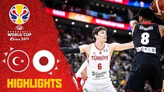 Turkey v Japan - Highlights - FIBA Basketball World Cup 2019
