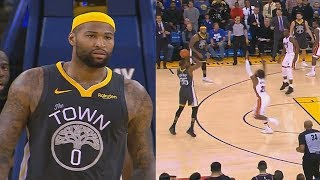 DeMarcus Cousins Saves Entire Warriors With Kevin Durant In Crazy Ending vs Heat! Warriors vs Heat