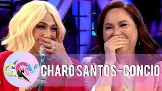 Vice Ganda asks slam book questions to Charo Santos-Concio | GGV