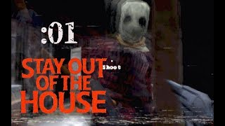 【Stay out of the House】殺人鬼がいる家から脱出せな:01