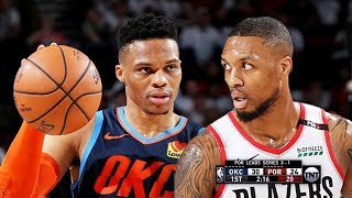 OKC Thunder vs Portland Trail Blazers - Game 5 - Full Game Highlights | 2019 NBA Playoffs