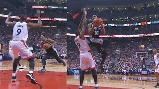 DeMar Derozan Shocks Raptors Crowd With Craziest 360 Layup! Raptors vs Spurs