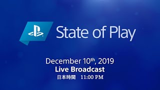 [日本語] State of Play | 2019/12/10 | PlayStation