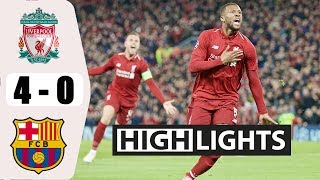Liver vs Barca 4−0 - All Gоals と Extеndеd Hіghlіghts - 2019