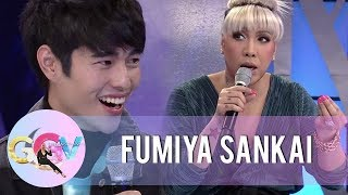 Vice tells Fumiya how a Japanese woman helped him in his studies before | GGV