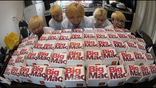 【30,000kcal】Crazy amount BigMac BATTLE