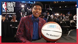 Rui Hachimura Makes History For Japan! | 2019 NBA Draft